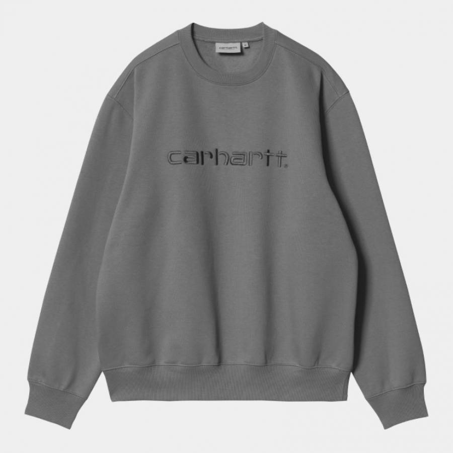 Carhartt Sweat - Shiver / Blacksmith