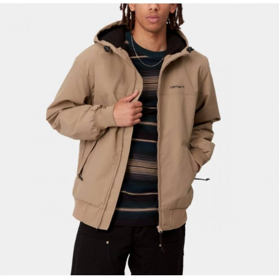 Carhartt Hooded Sail Jacket - Tanami / Black