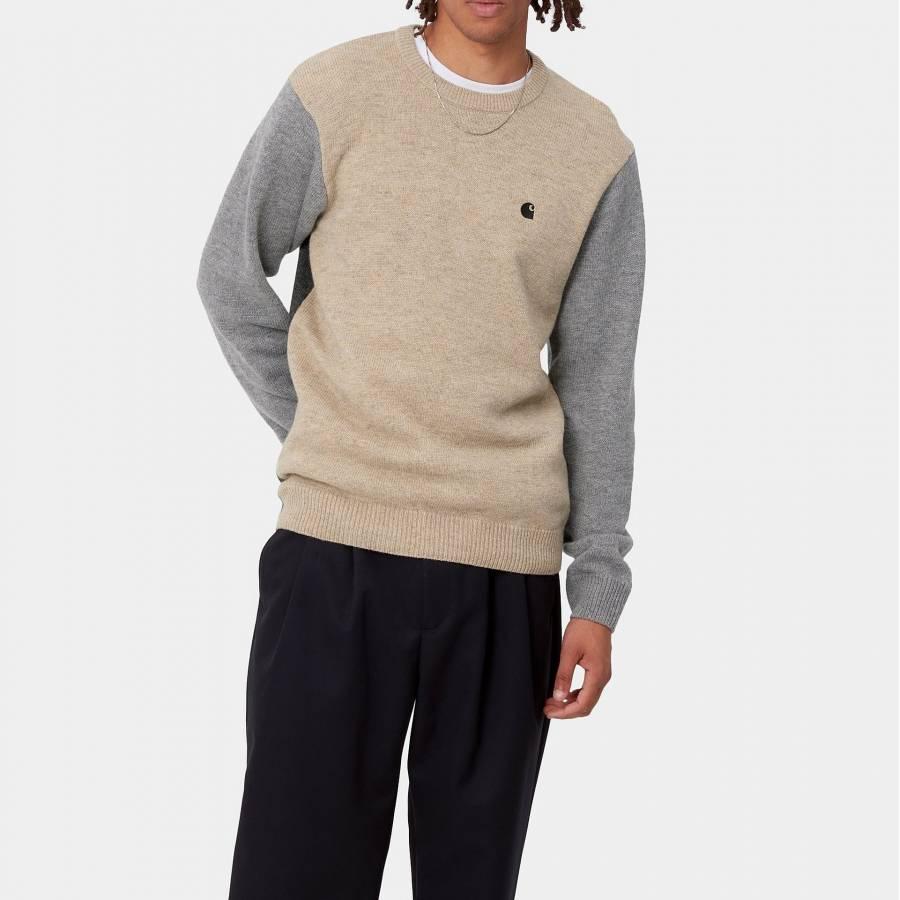 Carhartt Triple Sweater - Dusty H Brown Heather / ...