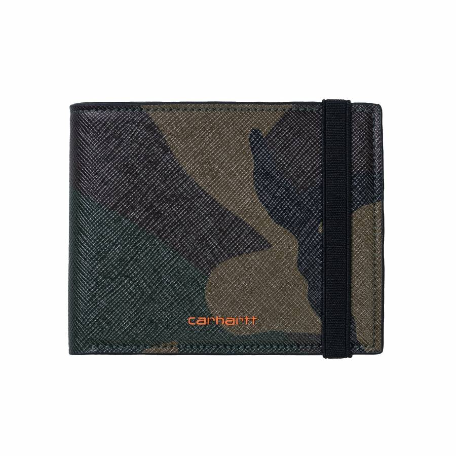 Carhartt Coated Billfold Wallet - Black / White