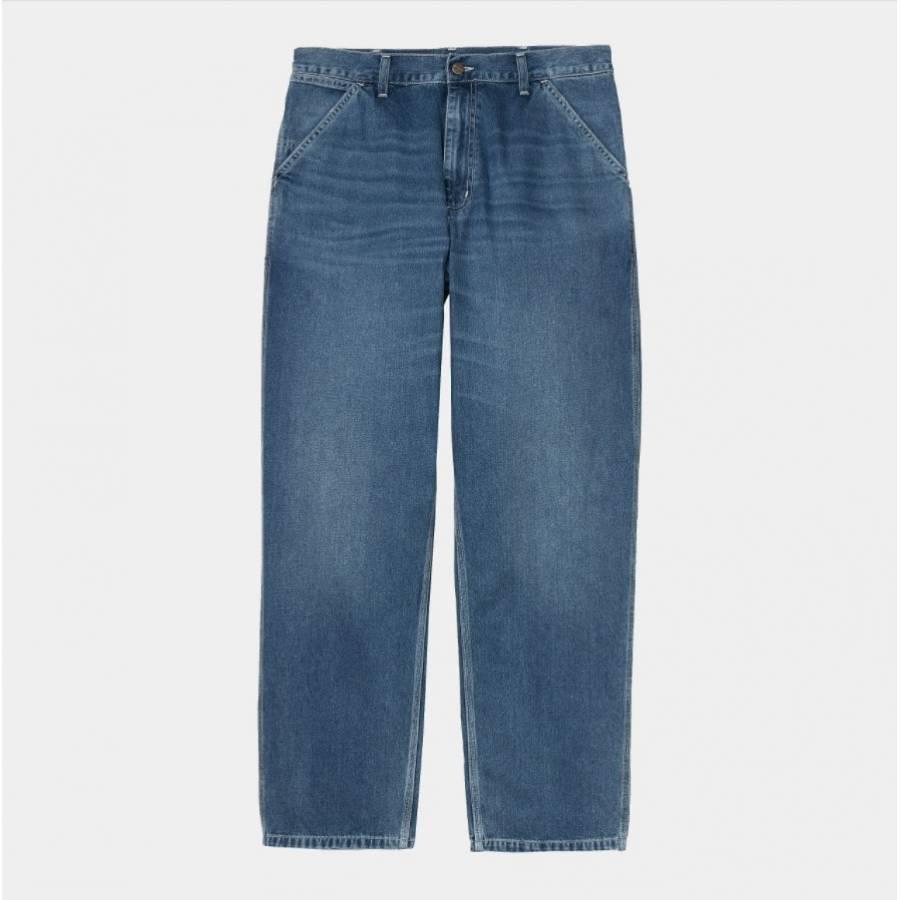 Carhartt Simple Pant - Blue (mid worn wash)