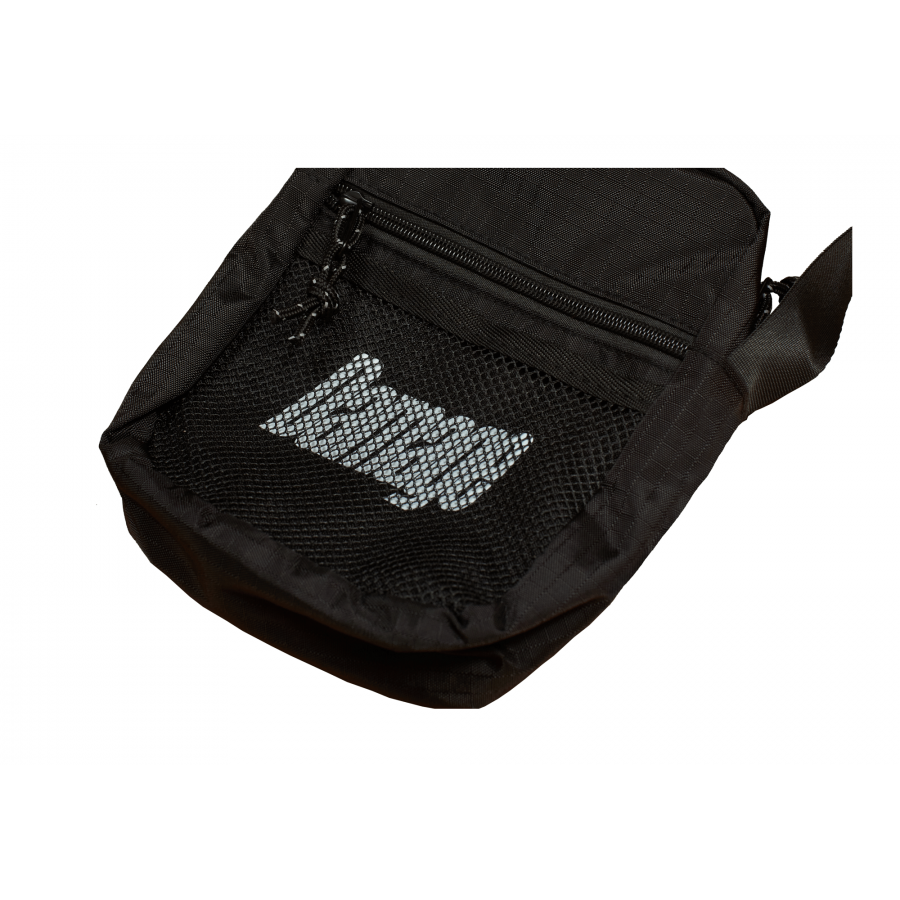 Damage Crossbody Bag - Black