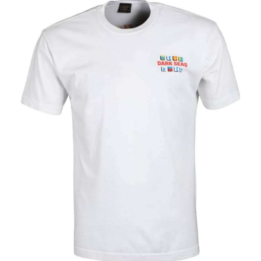 Dark Seas Interntional Organic T-shirt - White