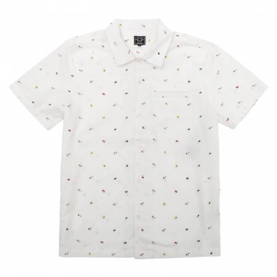 Dark Deas Wainscott Shirt - White