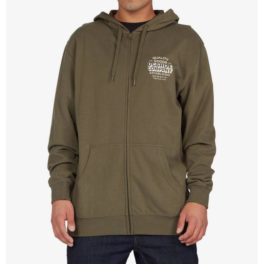 Dc Shoes Company Goods Hoodie - Ivy Green