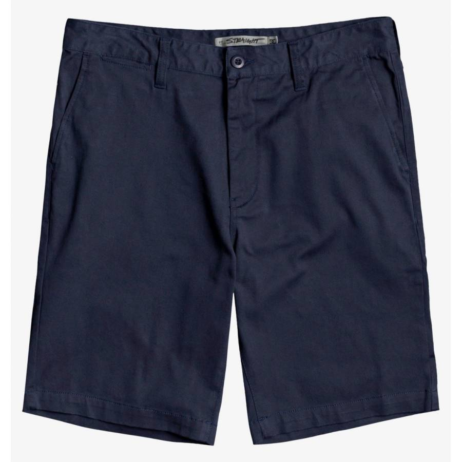 DC Worker Chino Shorts - Black Iris