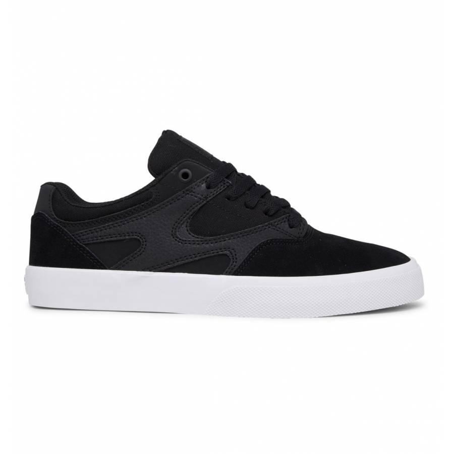 DC Shoes Kalis Vulc S Skate Shoes - Black / Black ...