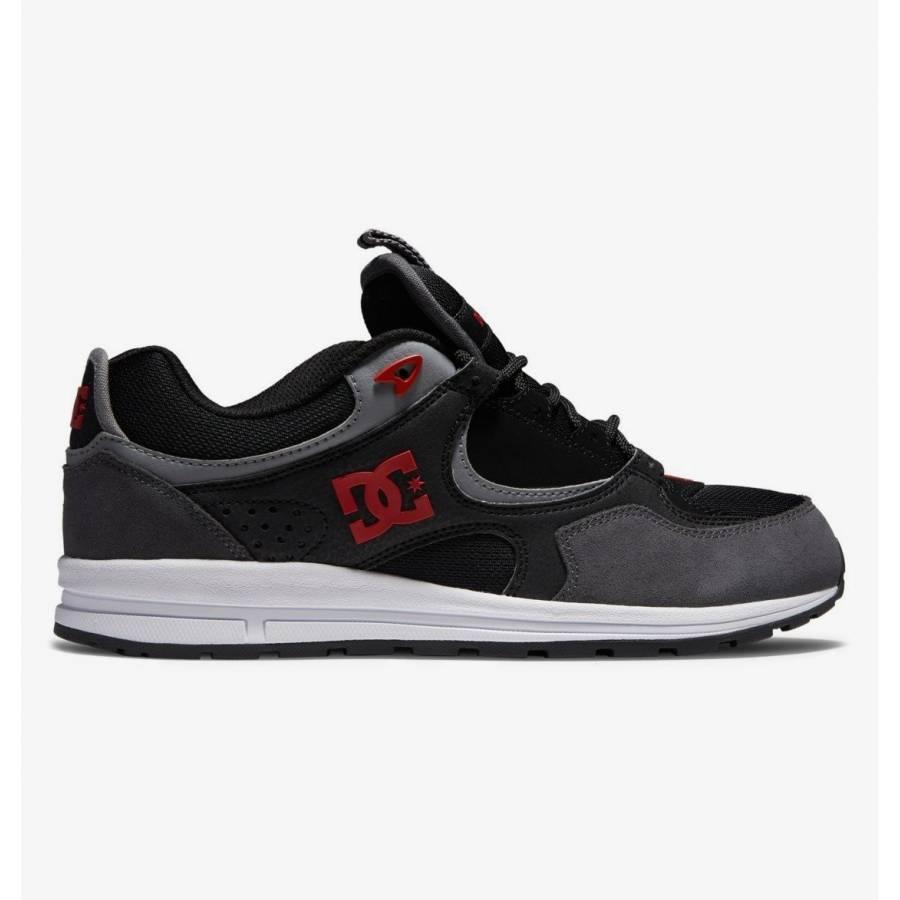 Dc Shoes Kalis Lite Shoes -  Black / Red
