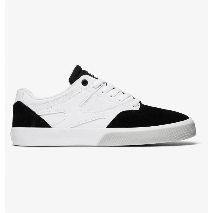 DC Shoes Kalis Vulc X Macba Life - White / Black