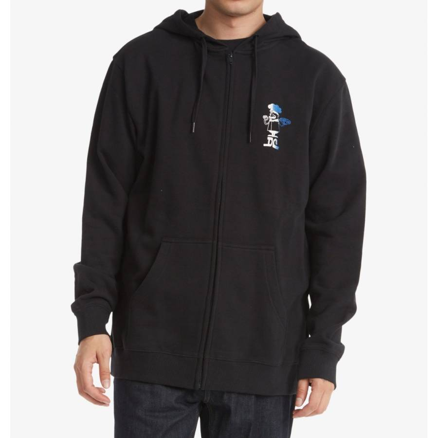 Dc Shoes No More Dine In Hoodie - Black