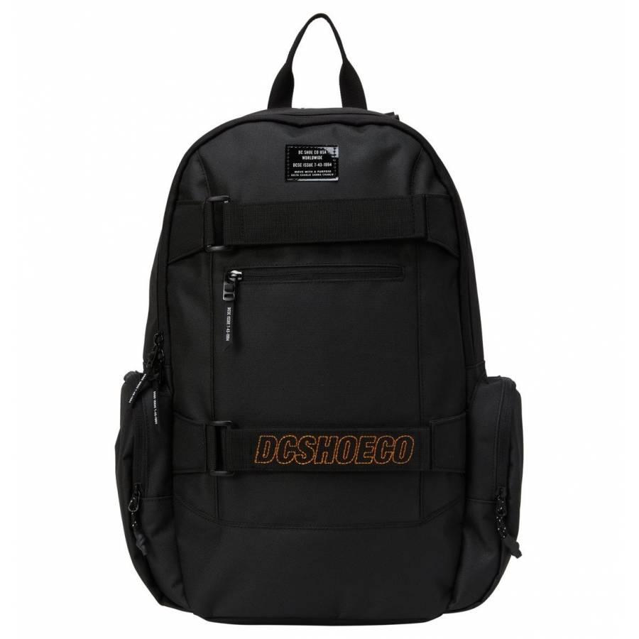 DC Shoes Breed 22L Medium Skate Backpack - Black