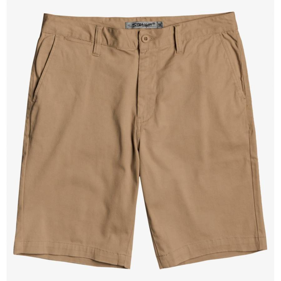 DC Shoes Worker Chino Shorts - Khaki