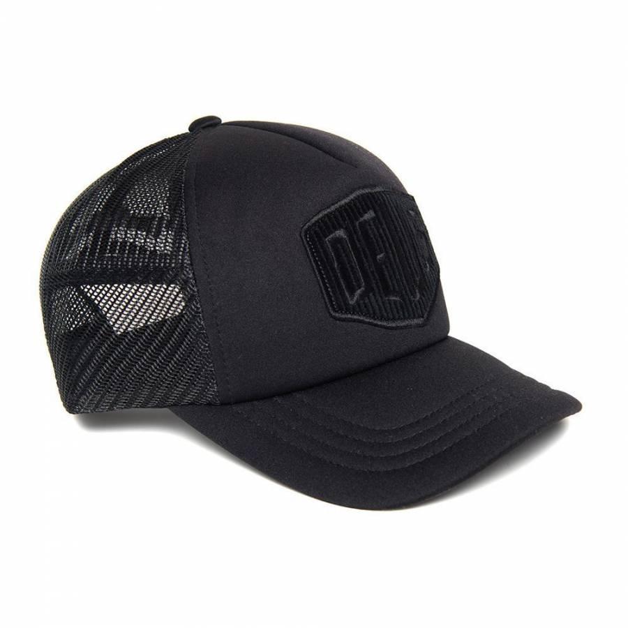 Deus Ex Machina Hayward Shield Trucker - Black