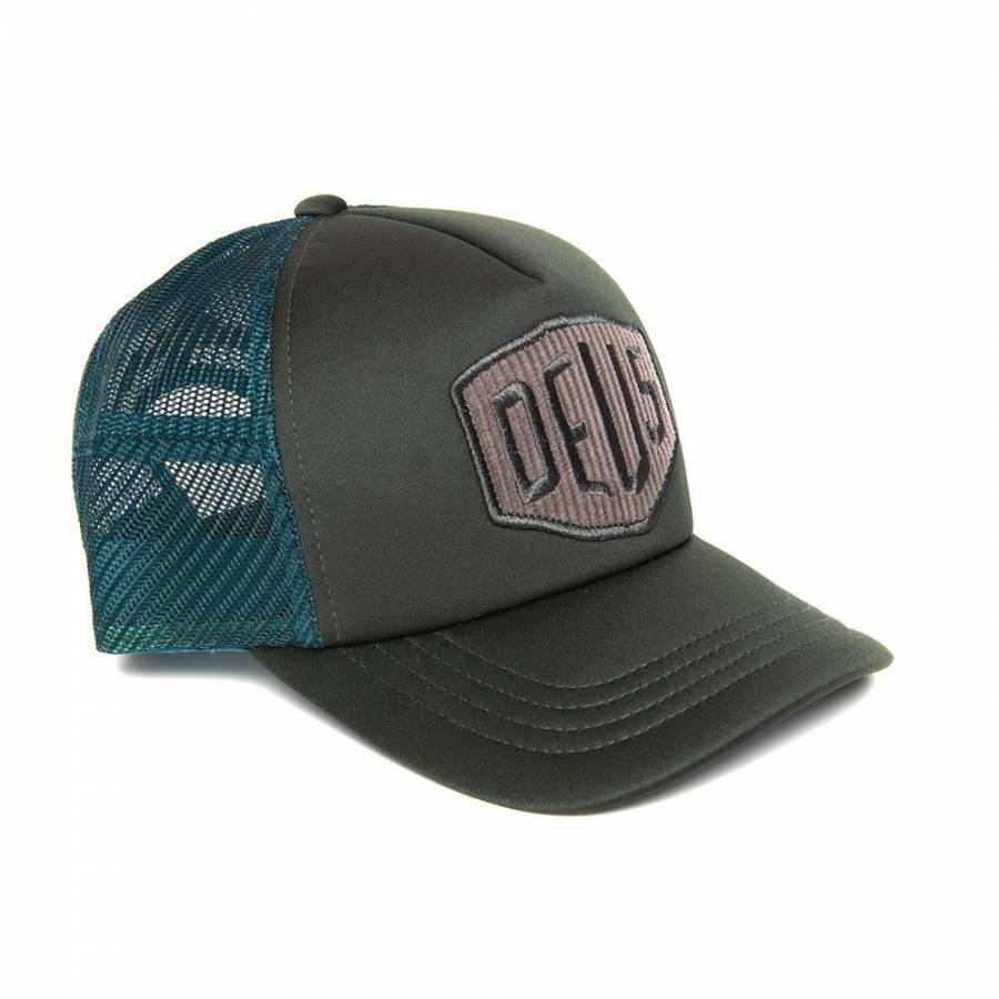 Deus Ex Machina Hayward Shield Trucker - Forest Ni...