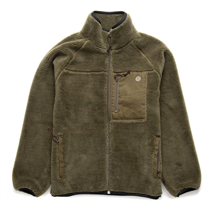 Deus Ex Machina Mackay Fleece - Dark Olive