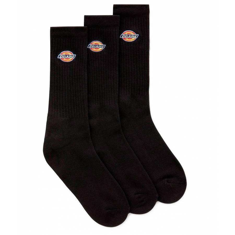 Dickies Valley Grove Unisex Logo Socks - Black