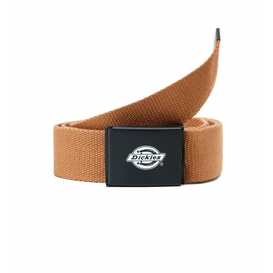 Dickies Orcutt Logo Buckle Belt - Brown Duck