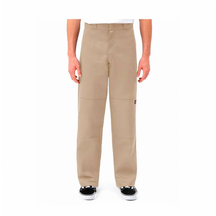 Double Knee Work Pant - Khaki