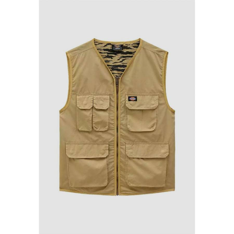 Dickies Glydon Dark Khaki Vest