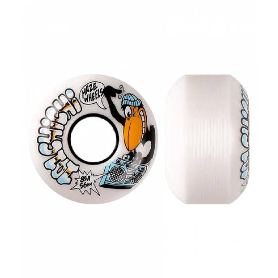 Haze Wheels 101 Chichi Wheels ( White ) 56MM 4 Pac...
