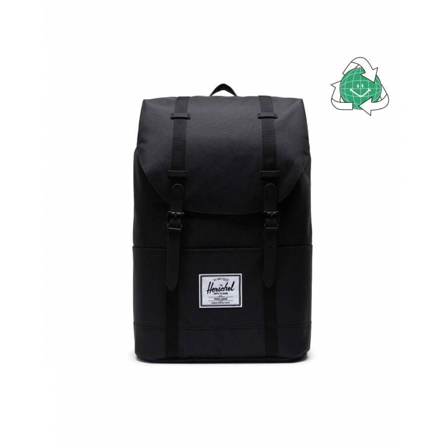 Herschel Retreat Backpack - Black / Black (Eco)