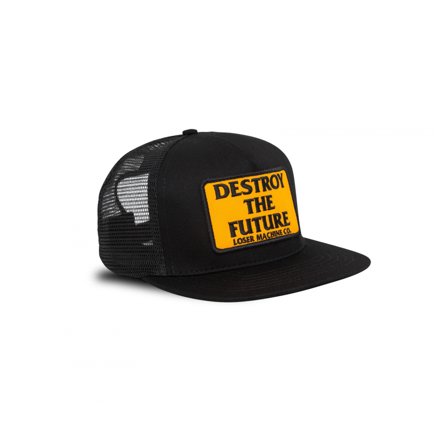Loser Machine Destroy Trucker Hat - Black