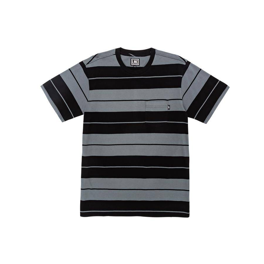 Loser Machine Campo Knit Tee - Charcoal