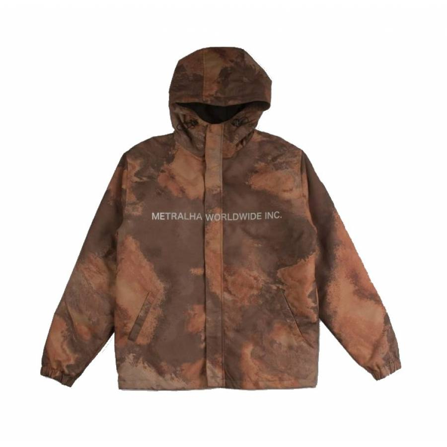 Metralha Maven OA  Jacket - Orange / Brown / Black