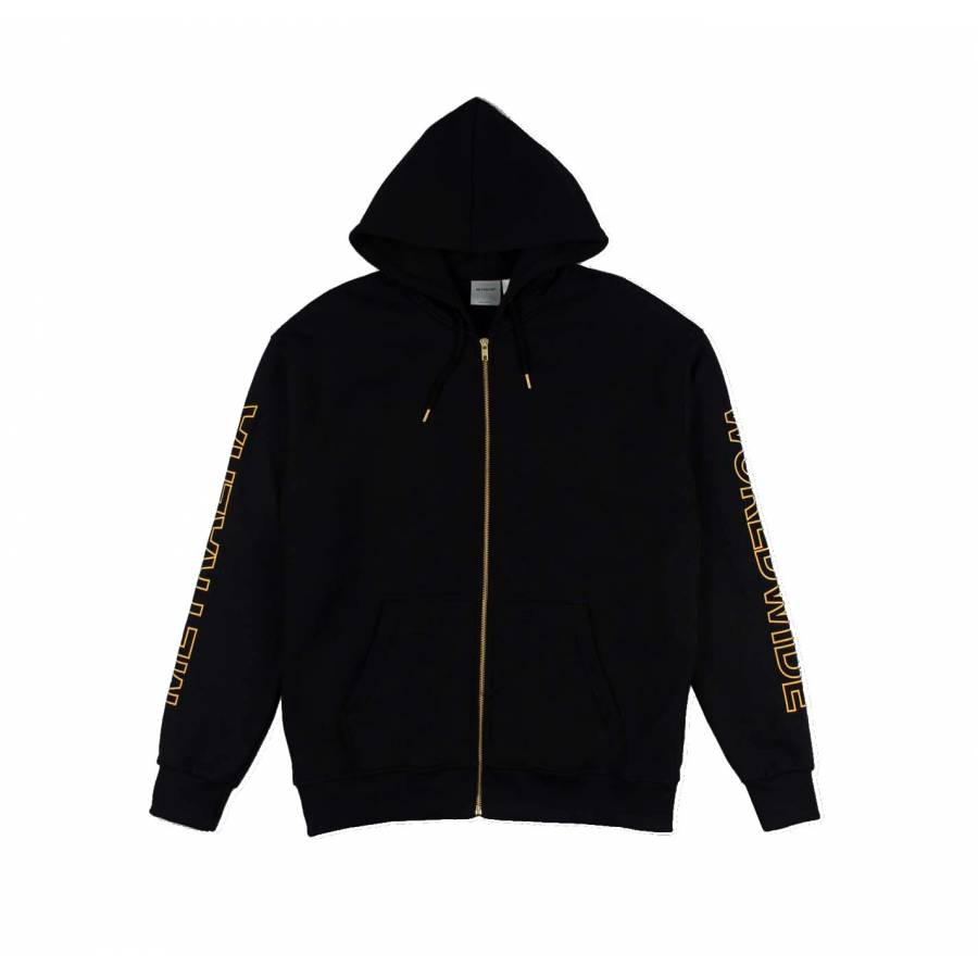 Metralha Apollo Zip Hoodie Jacket - Black / Gold