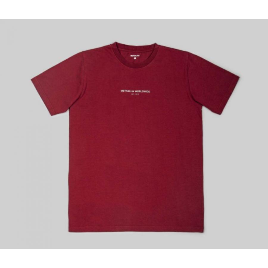 Metralha Established T-shirt - Bordeaux