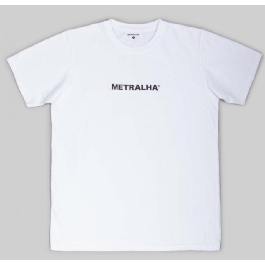 Metralha Logo T-shirt - White