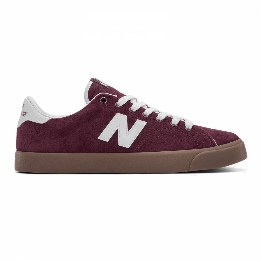 New Balance  All Coasts 210 Shoes - Burgundy / Whi...