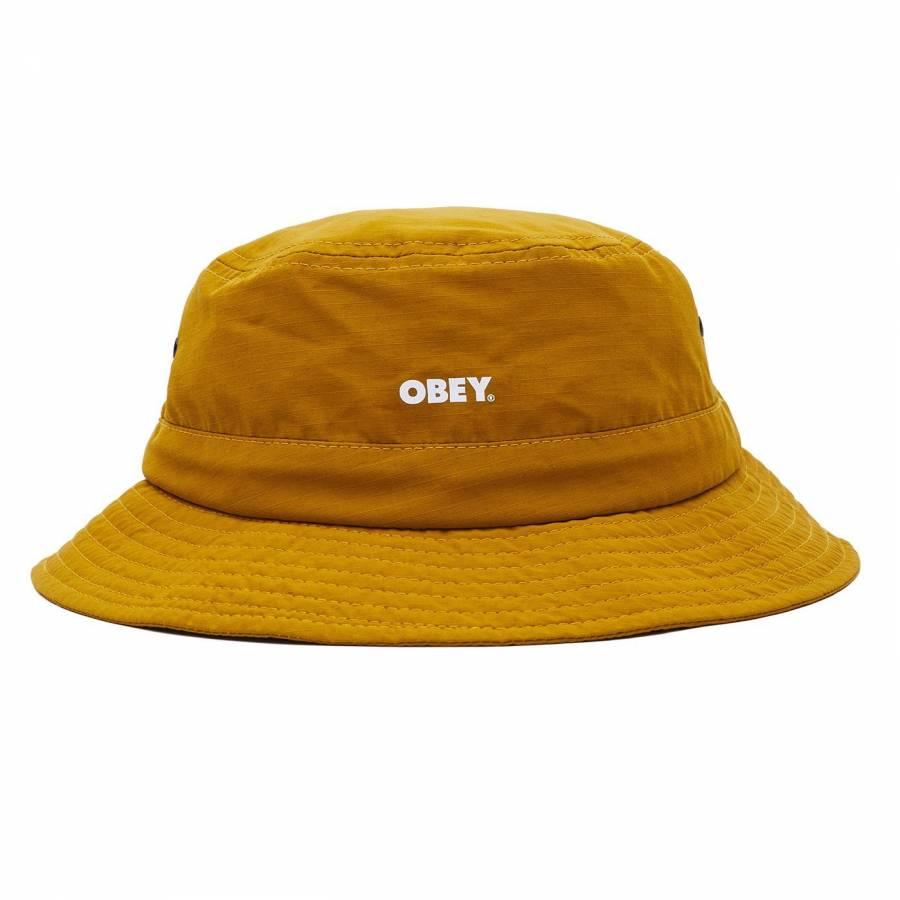 Obey Bold Jazz Bucket Hat - Dijon