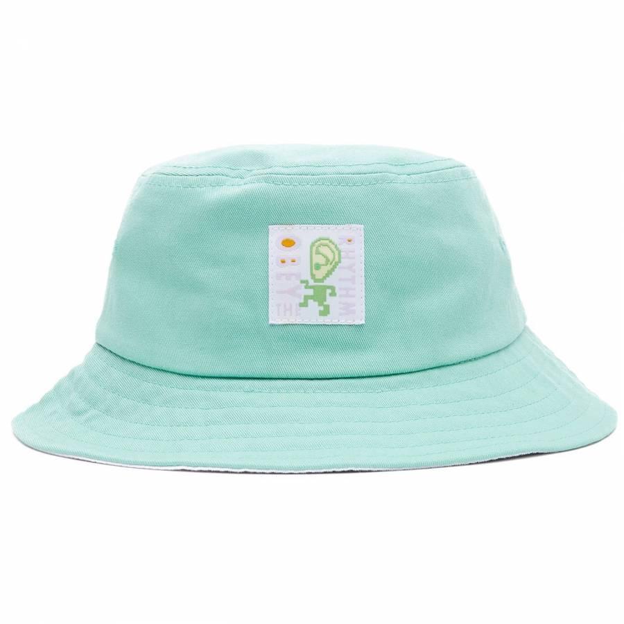 Obey Rhythm Bucket Hat - Mint White