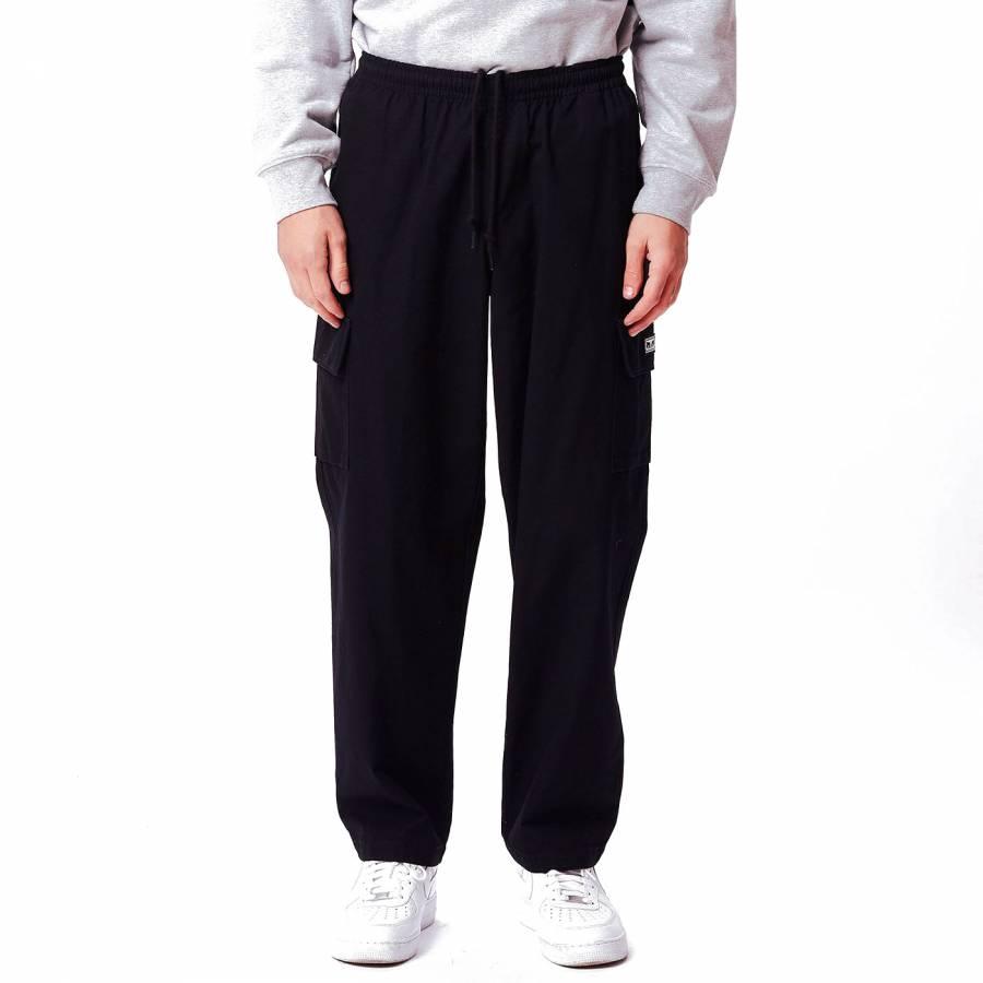 Obey Easy Big Boy Cargo Pant - Black