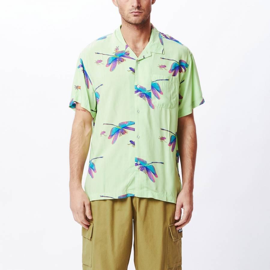 Obey Dragon Fly SS Shirt - Spirulina Multi