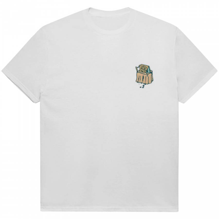 Pass Port Unlucky in Love Tee - White
