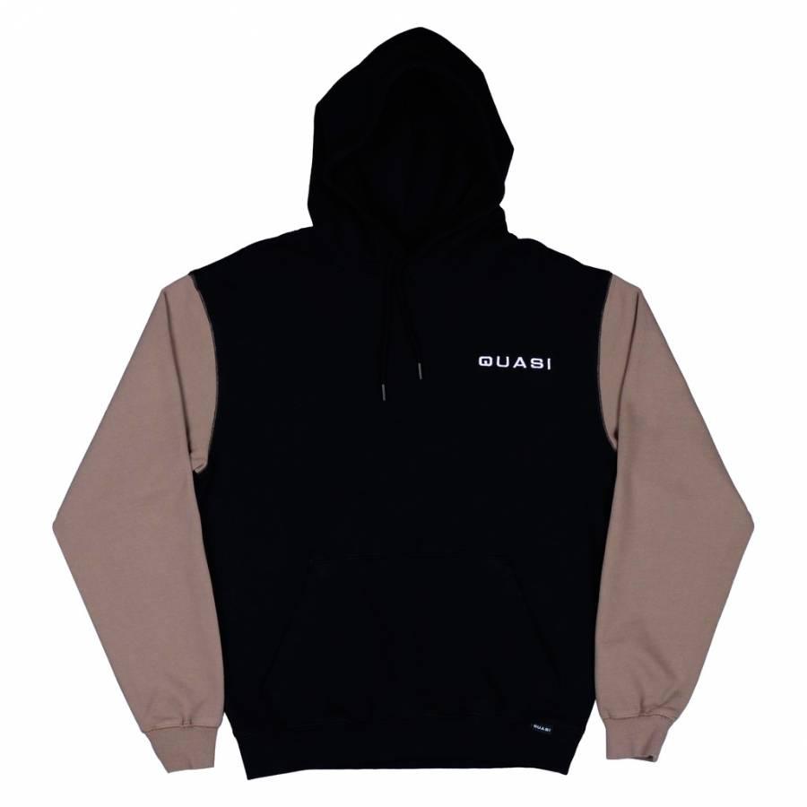 Quasi Blockhead Hood Sweat - Black