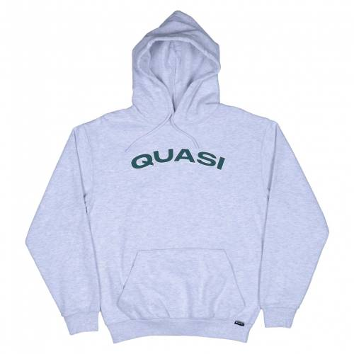 Quasi Gym Hood Sweat - Ash
