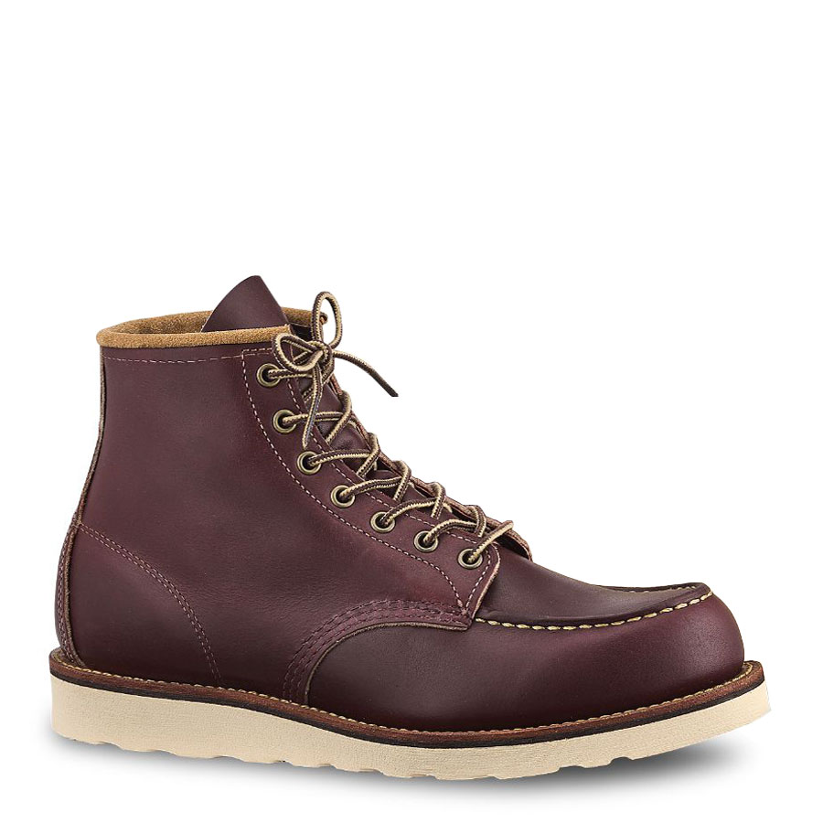 Red Wing Shoes 8859 Classic Moc Toe Oxblood