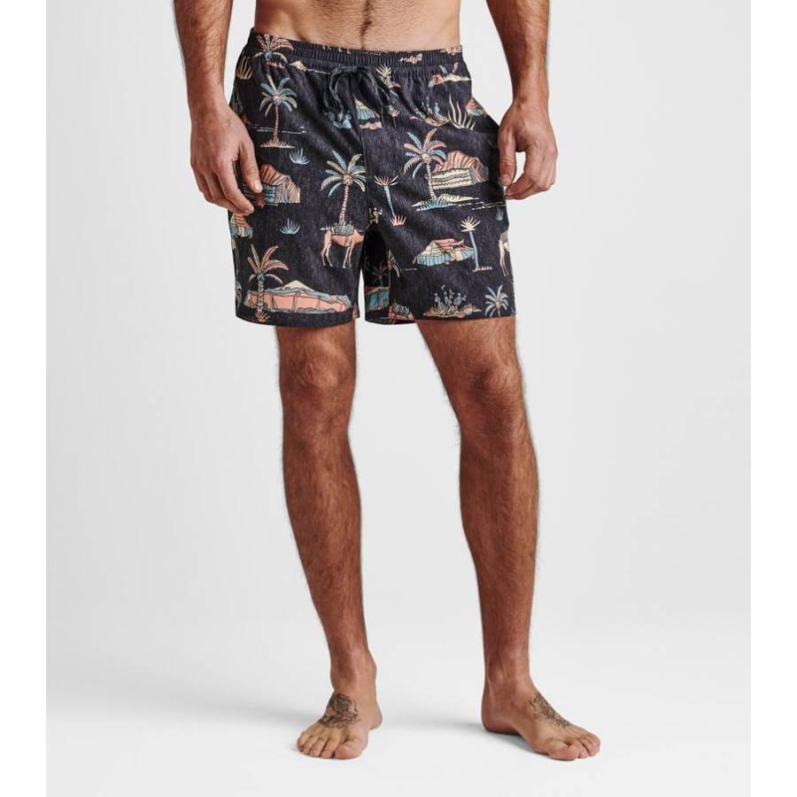 "Roark Shore Agafay 16"" Boardshorts - Black"