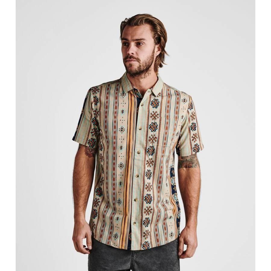 Roark Bazaar Up Shirt - Stone