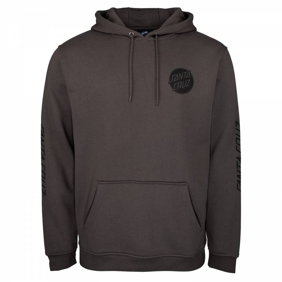 Santa Cruz Contra Dot Mono Hood - Washed Black