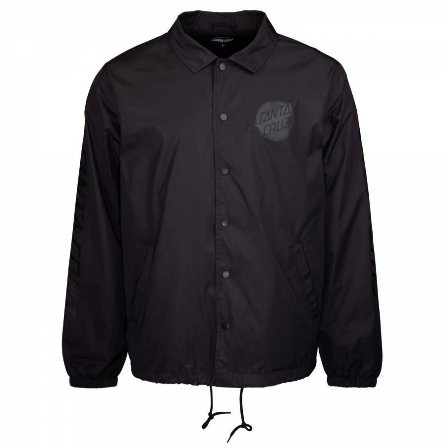 Santa Cruz Contra Dot Mono Jacket -  Black