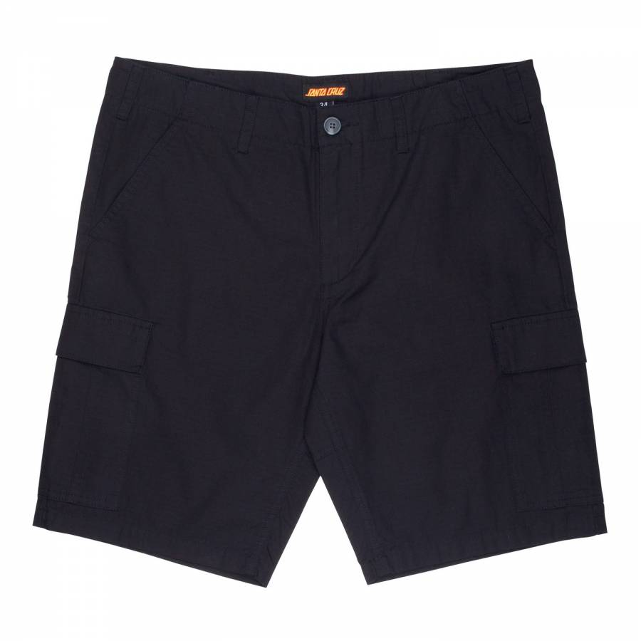 Santa Cruz Defeat Work Shorts - Black