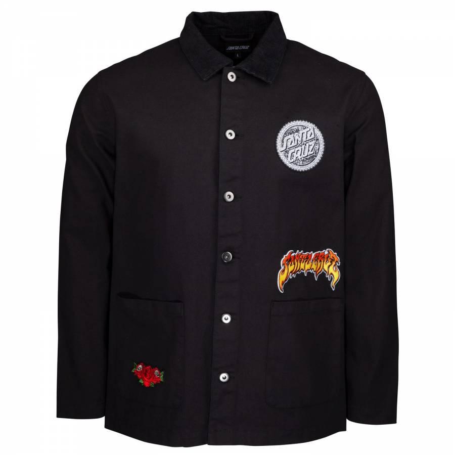 Santa Cruz Plant Jacket - Washed Black