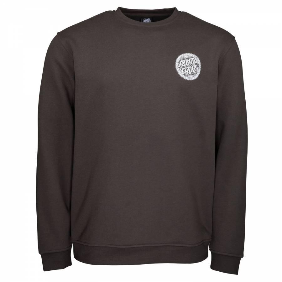Santa Cruz Santa Muerte Crew Sweatshirt - Washed B...