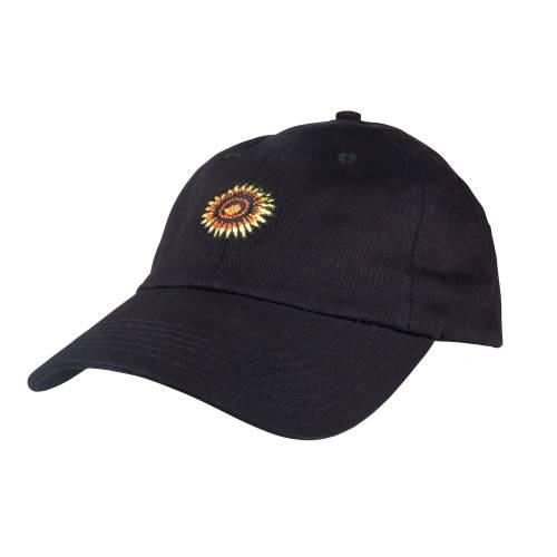Santa Cruz Sunflower Cap - Black