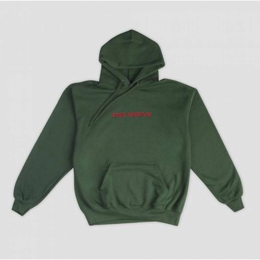 Sour Anti Slice Hood Sweat - Forest Green
