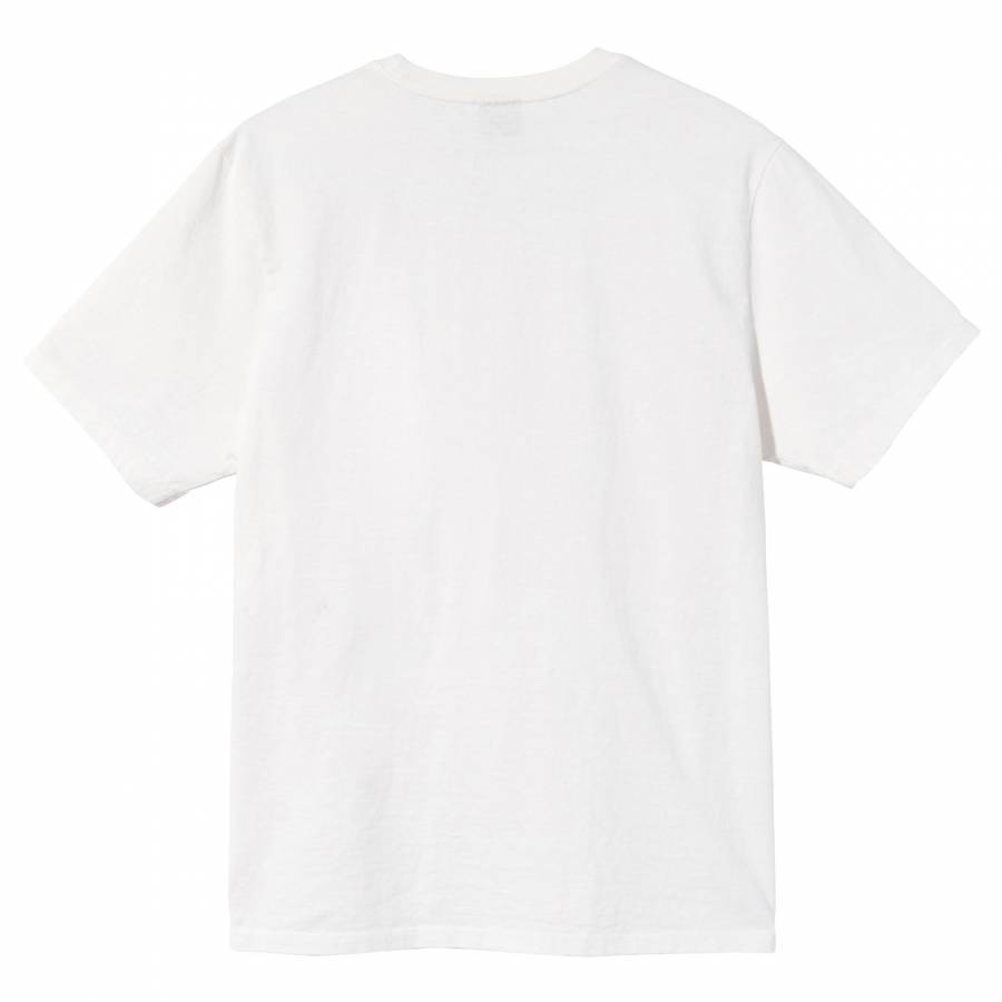 Stussy Surfman Pigment Dyed Tee - Natural
